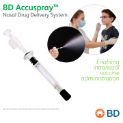 BD Accuspray™ Nasal Drug Delivery System - Revealing a new route of administration