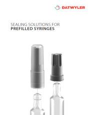 Datwyler's solutions for Prefilled Syringe applications