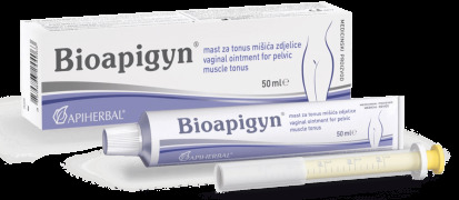 Bioapigyn vaginal ointment for pelvic muscle tonus