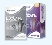 SINSIN Lidocaine Cataplasma (gel patch)