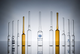 Glass tubing ampoules