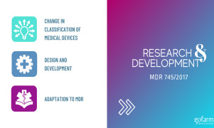 Research & Development of medical devices
