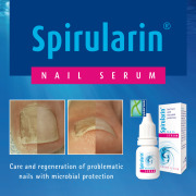 Spirularin Nail Serum with microbial protection