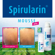 Spirularin Mousse Plus for very dry and sensitive skin