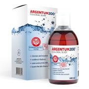 Aura Herbals Argentum 200® (50 ppm) Colloidal Silver (500 ml)