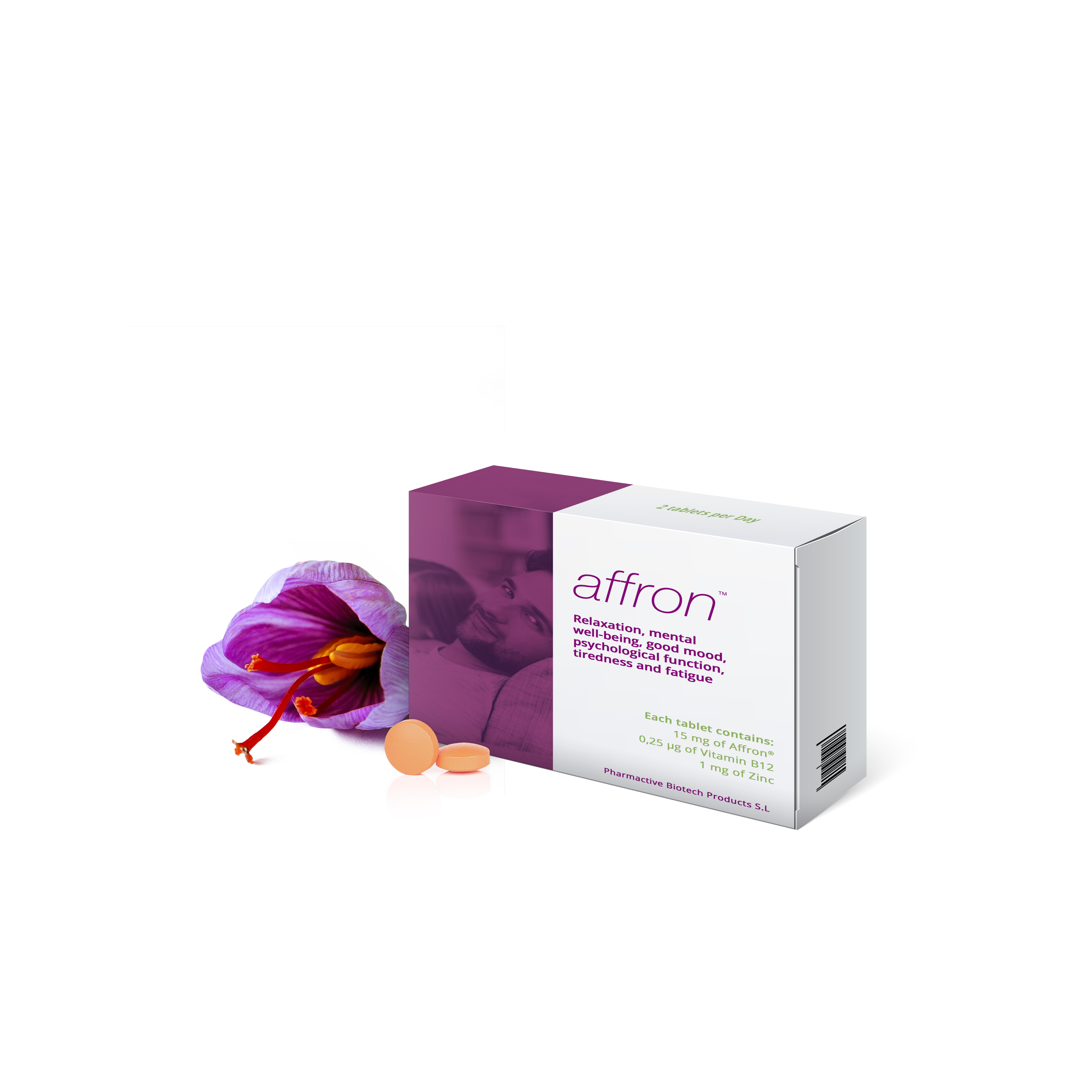 affron®.- ADD-ON TO ANTIDEPRESSANTS AND IMPROVES MOOD AND REDUCE STRESS & ANXIETY IN HEALTHY ADULTS