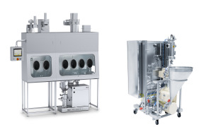 inline mixer CMX with 2 dispersing stages