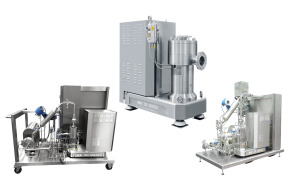 Three-stage high shear inline dispersing machine DISPAX-REACTOR DR
