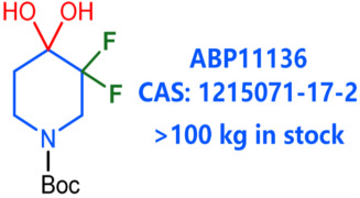 tert-butyl 3,3-difluoropiperidine-1-carboxylate hydrate