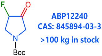 tert-butyl 3-fluoro-4-oxopyrrolidine-1-carboxylate