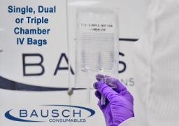 Ready to Use IV Bags by BAUSCH Consumables