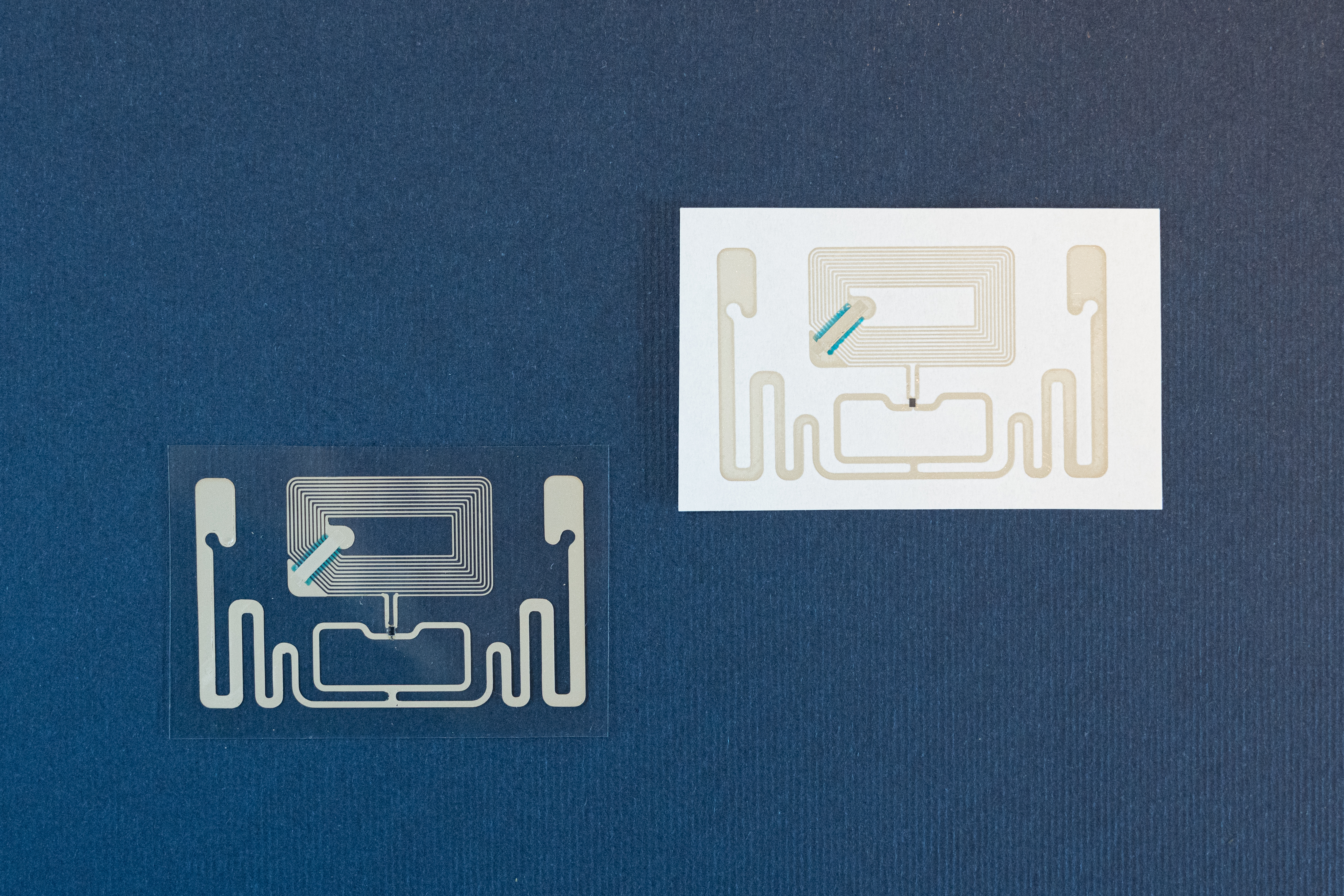 NFC, UHF and HF RFID eco-friendly antennas