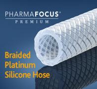 PharmaFocus Premium Braid Reinforced Silicone Tubing