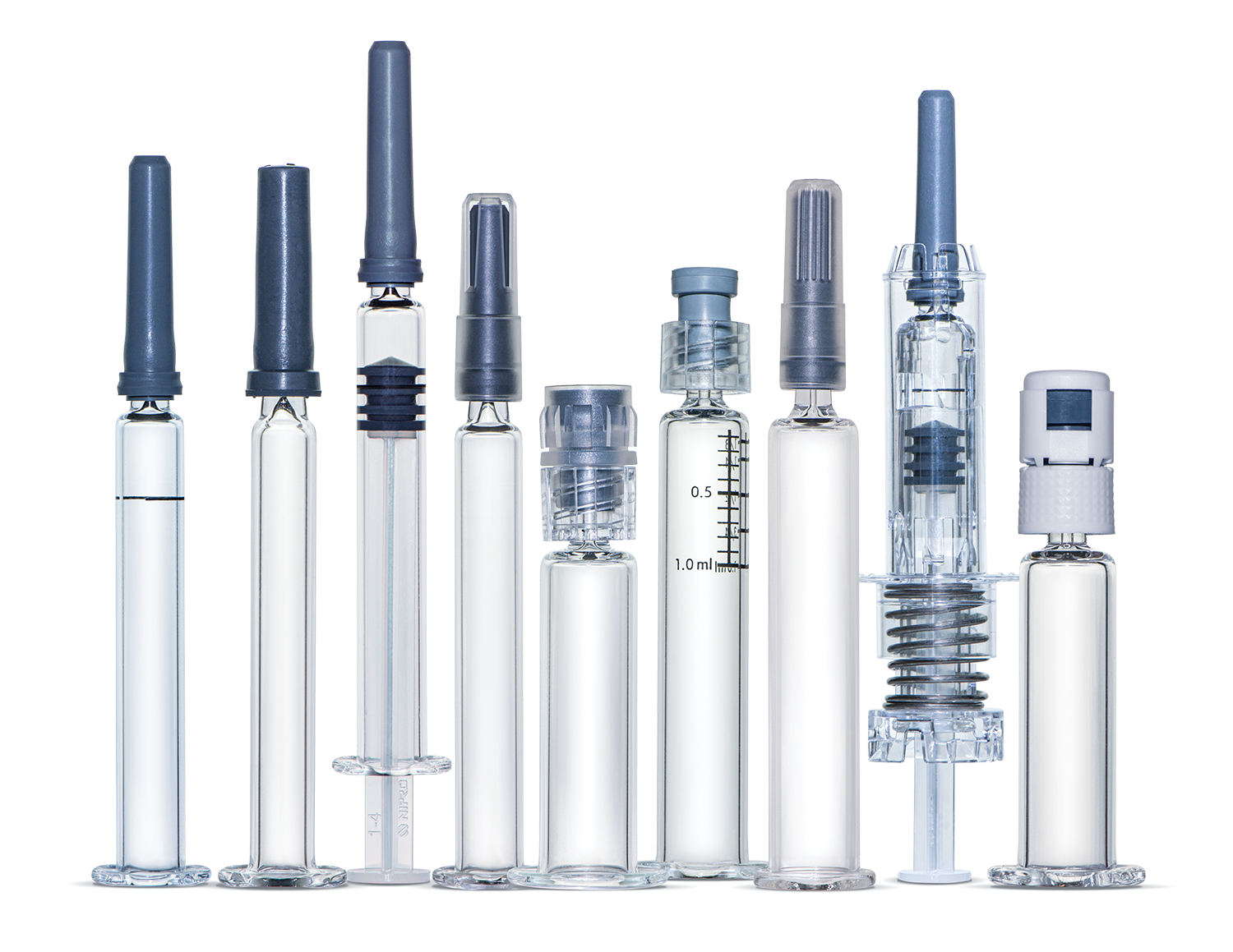 Prefillable Glass Syringes