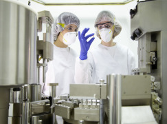 MANUFACTURING OF BATCHES FOR CLINICAL TRIALS