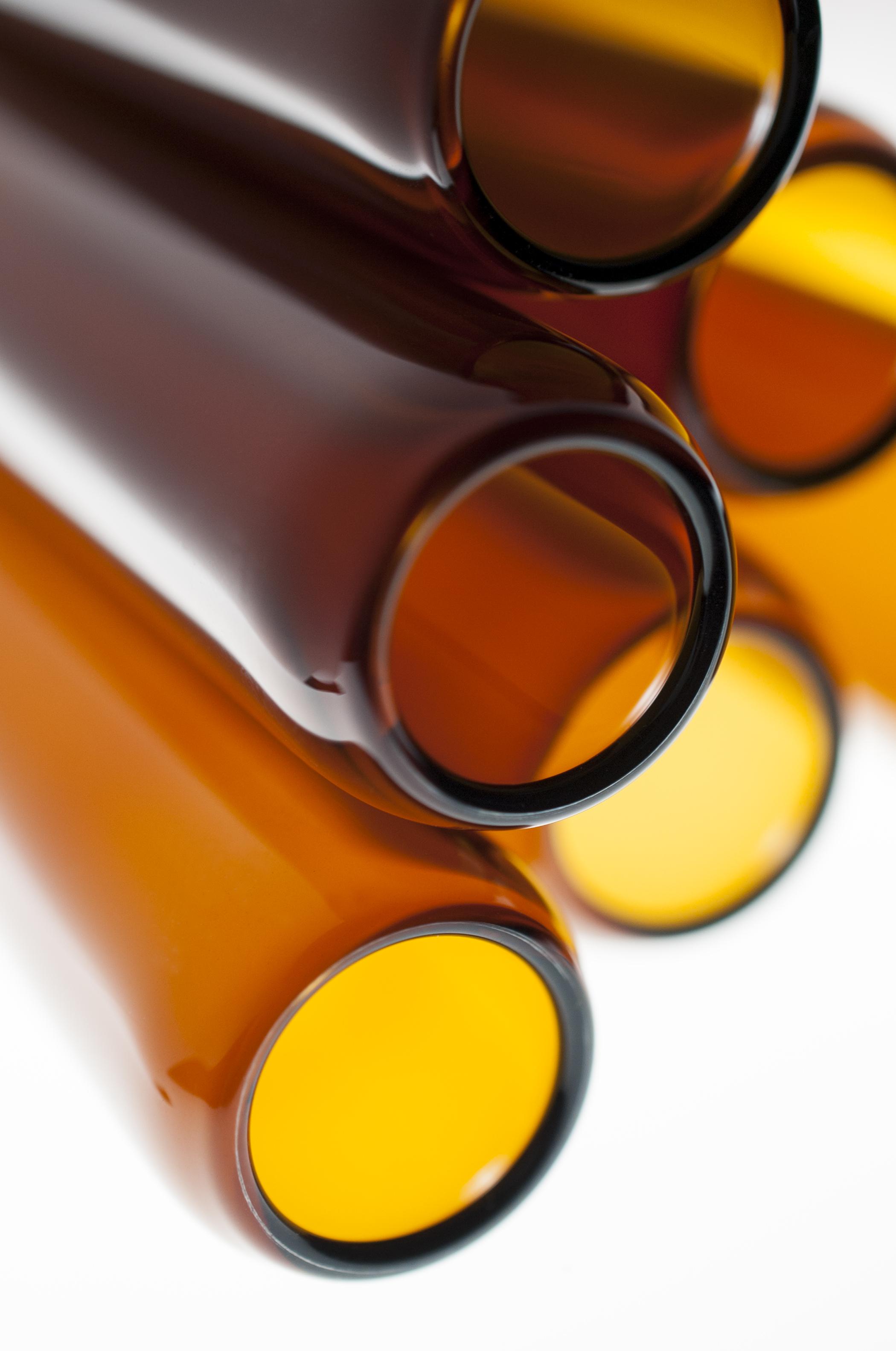 Corning® 51-A Amber Borosilicate Glass Tubing