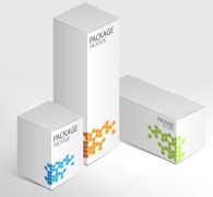 Folding cartons for pharmaceutical industry