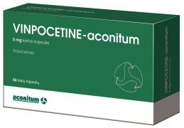Vinpocetine-aconitum 5, 10 Mg Hard Capsules or Tablets