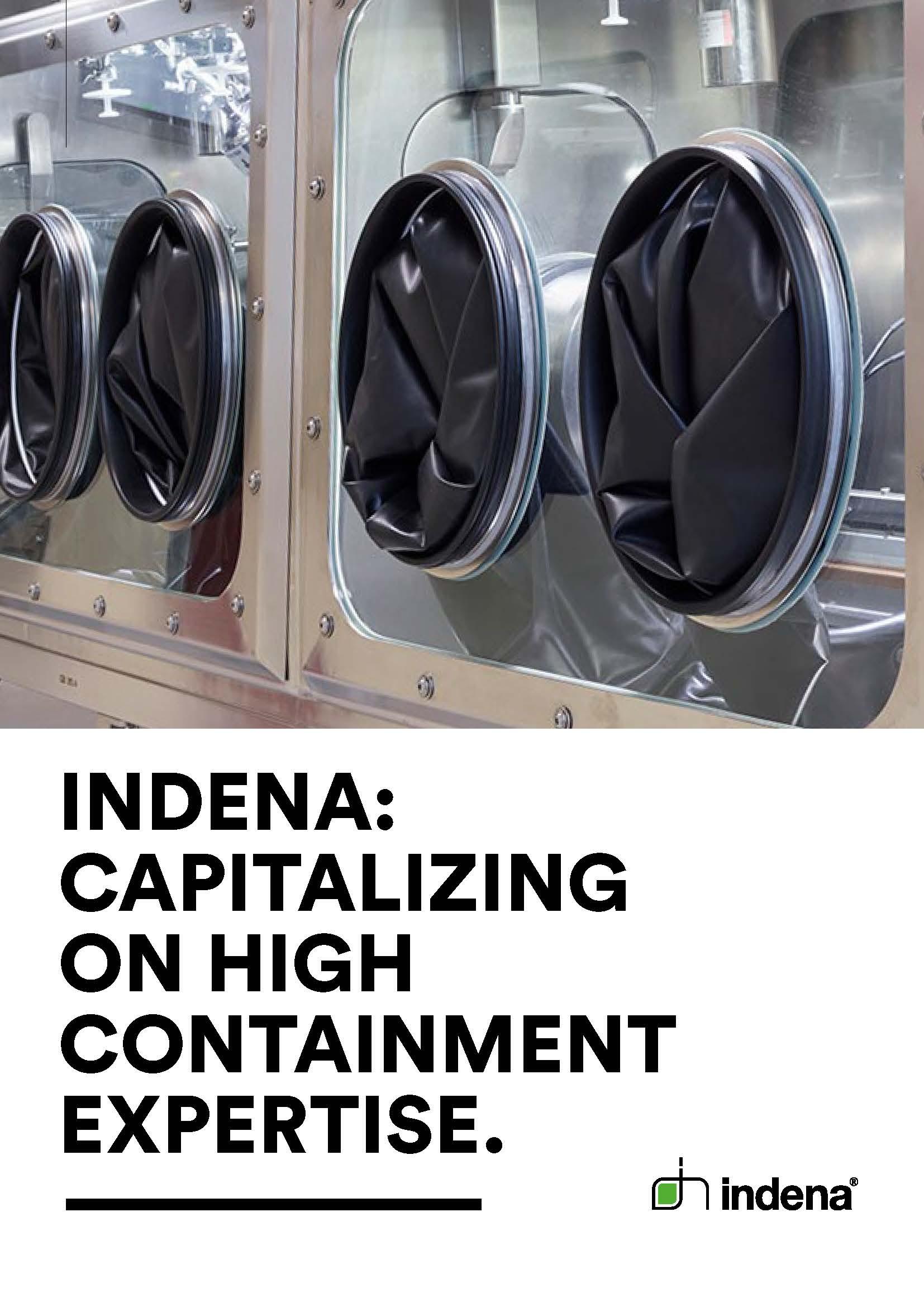 Indena CDMO services