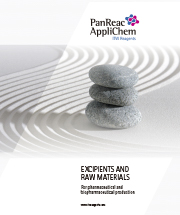 Excipients and Raw Materials for Pharmaceutical and Biopharmaceutical Production
