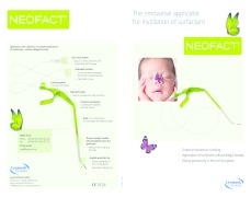 NEOFACT®  - Innovative applicator  for instillation of surfactant