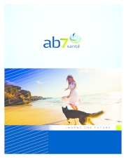 AB7 Santé - Corporate Brochure