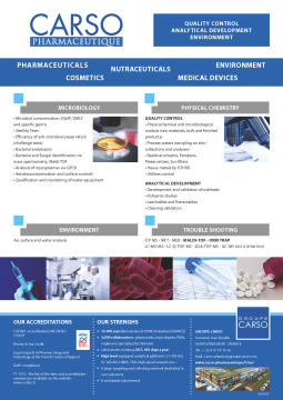 Commercial brochure CARSO